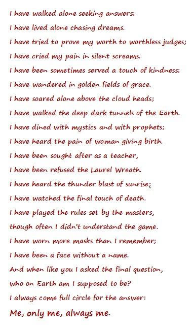 Leonard Nimoy Poetry