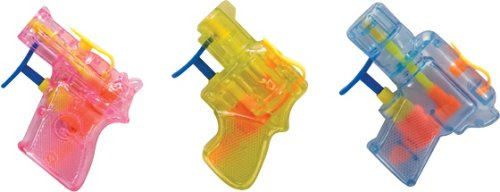 3 Pack Schylling Mini Squirt Guns Assorted Colors