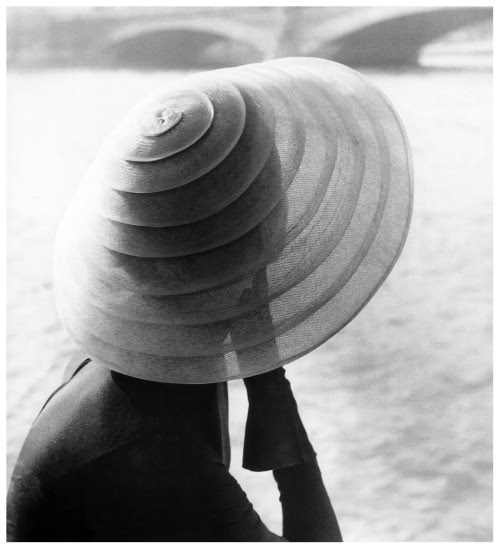 Model wearing Jacques Fath, 1951 Photo by Regina Relang