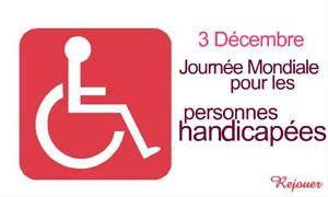 Journée pour les handicapés