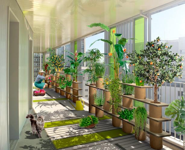 Végétagère Modular Container Gardening System by Frédéric ...