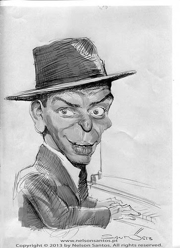 Frank-Sinatra by caricaturas