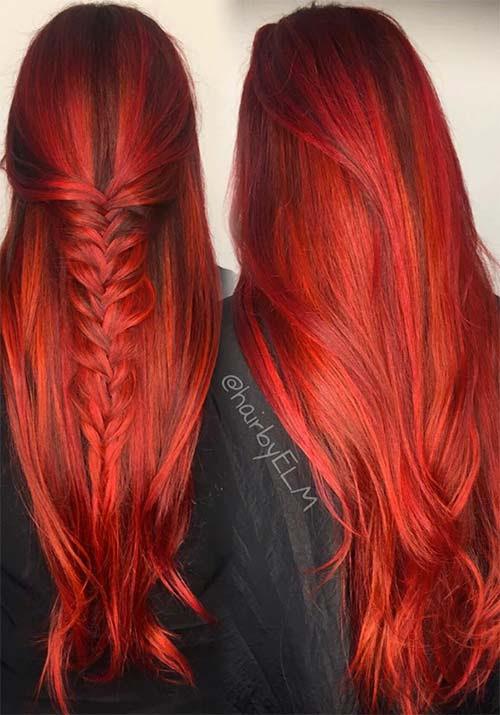100 Badass Red Hair Colors: Auburn, Cherry, Copper, Burgundy Hair Shades  Fashionisers