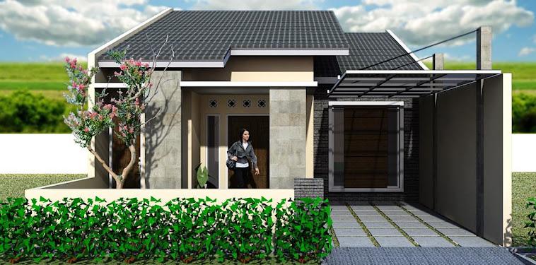 Kumpulan Gambar Tampak Depan Rumah Minimalis Modern 1 Lantai