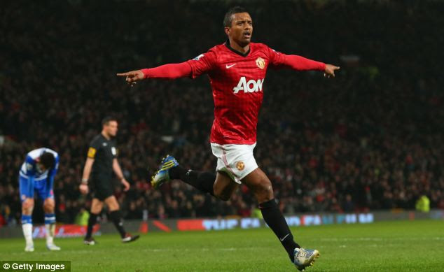 Talented: But Nani is far from one of the first names on Sir Alex Ferguson's team sheet