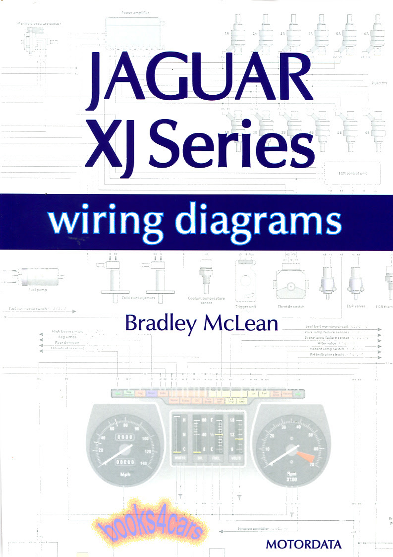 JAGUAR ELECTRICAL WIRING DIAGRAMS XJS XJ6 XJ12 SCHEMATICS ...
