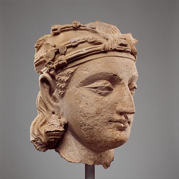 Monumental Bodhisattva Head