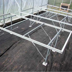 EZ-Grow Professional Greenhouse Benches - FarmTek