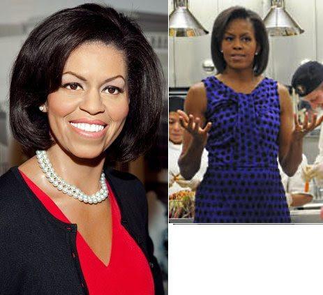 Bela aos 45-Michelle Obama