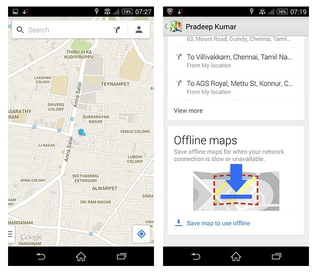 How To Use Google Maps Offline Android Ios