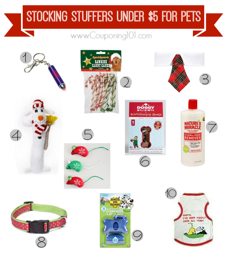 10 Stocking Stuffer Ideas For Pets For 5 Or Less Couponing 101