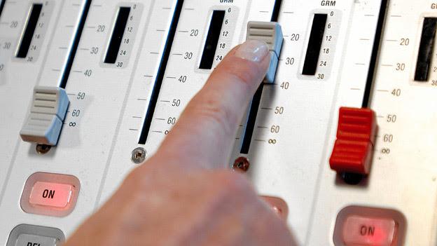 Mischpult Radio SRF 1
