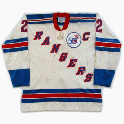 New York Rangers 75-76 jersey, New York Rangers 75-76 jersey