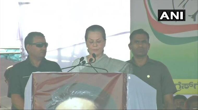 Karnataka elections LIVE UPDATES PM Modi speaks like an actor but his speeches cannot fill empty stomachs, says Sonia Gandhi