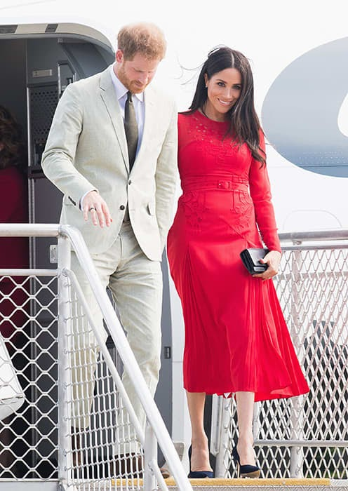 All UK Royals Looks Ravishing in Red Dress