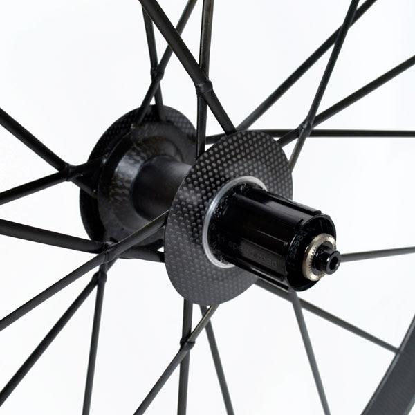 Lightweight Meilenstein Generation 4 tubular rear hub