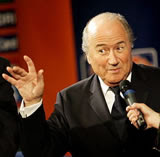 Blatter: Cheeky scamp