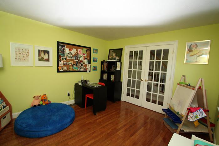Playroom Mom corner
