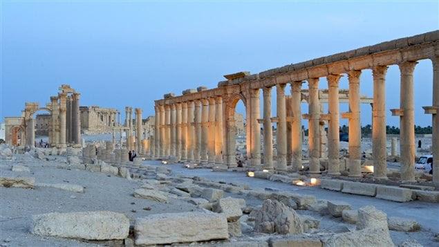 Le site archéologique de Palmyre en Syrie a été pris d'assaut par le groupe armé EI en mai dernier, faisant craindre le pire pour celui-ci.