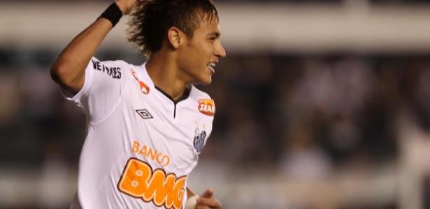 A pintura do camisa 11 santista contra o Flamengo foi uma das escolhidas pela Fifa