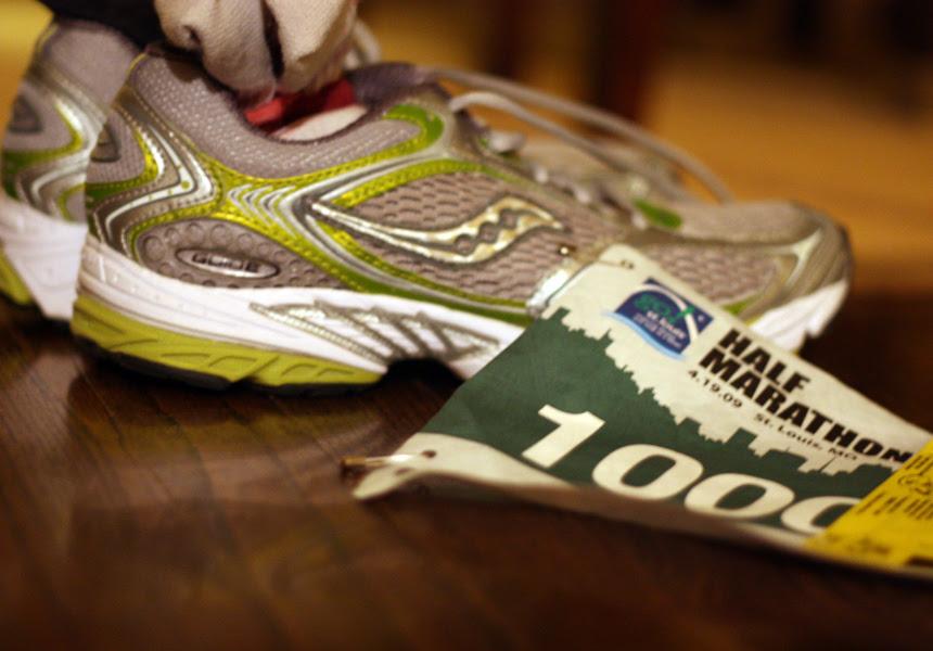 Marathon morning