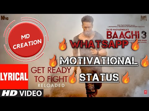 WhatsApp Status || Motivation Status || Get Ready to Fight || 💜By MD Cre...