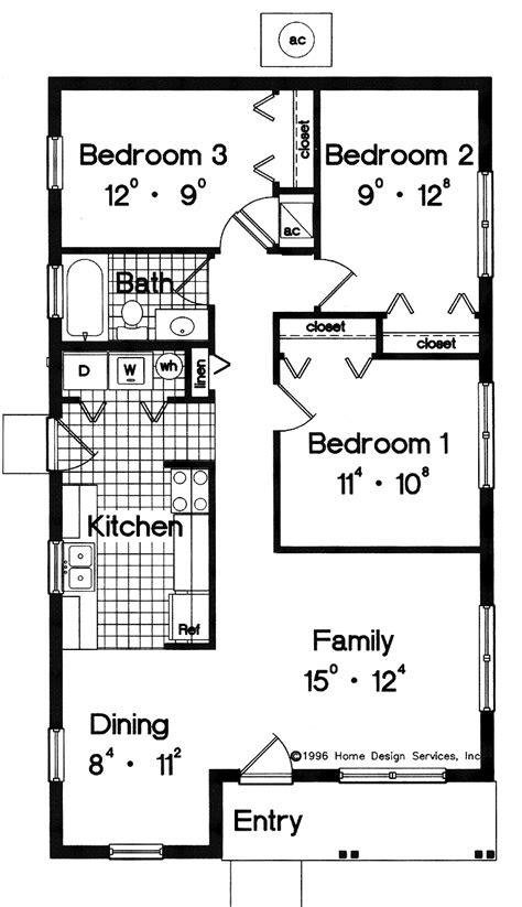 simple house floor plans  simple house floor plan