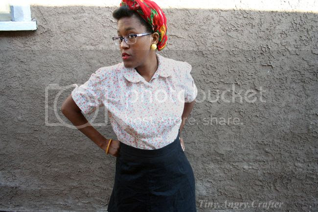 Sew For Victory vintage inspired outfit