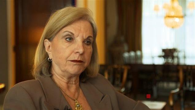 L'ancienne présidente du Conseil du Trésor et ministre des Finances dans le gouvernement libéral de Jean Charest, Monique Jérôme-Forget.