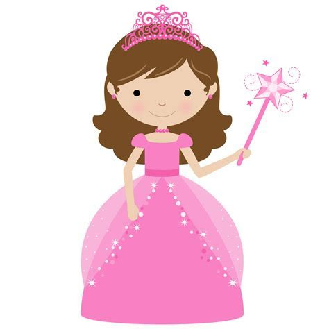 Princess and Cupcake Clipart.   Oh My Fiesta! in english