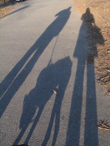 Self portrait, Prospect Park