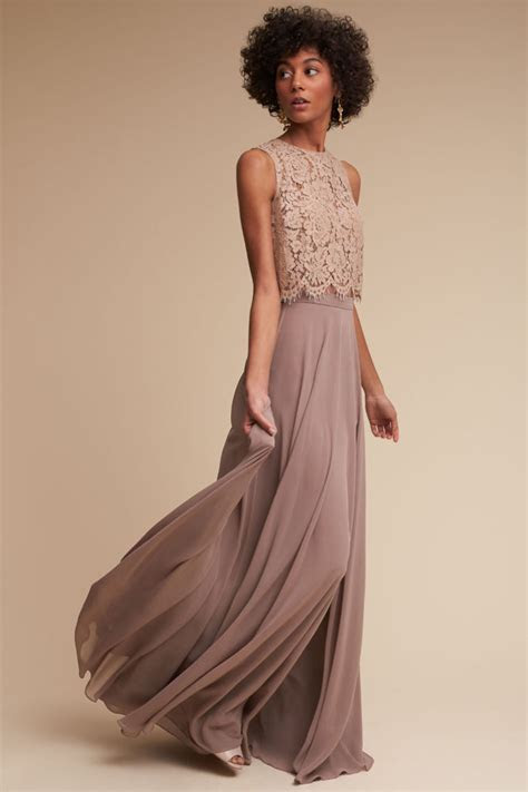 Lace Top Bridesmaid Dresses   Dress for the Wedding