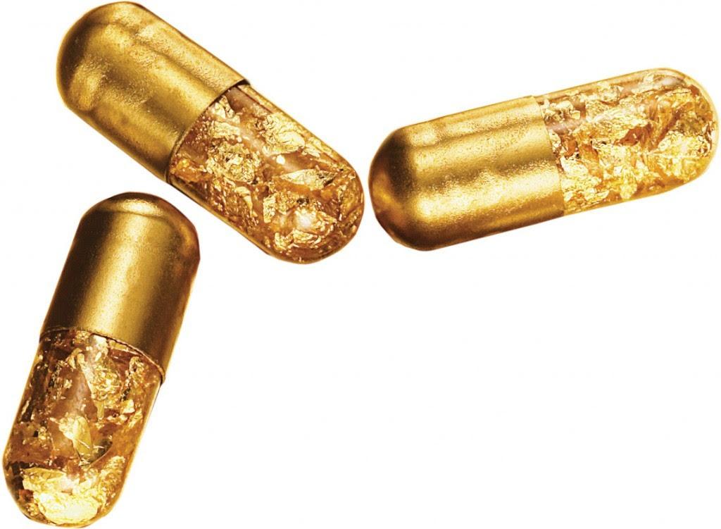Gold Poop Pills