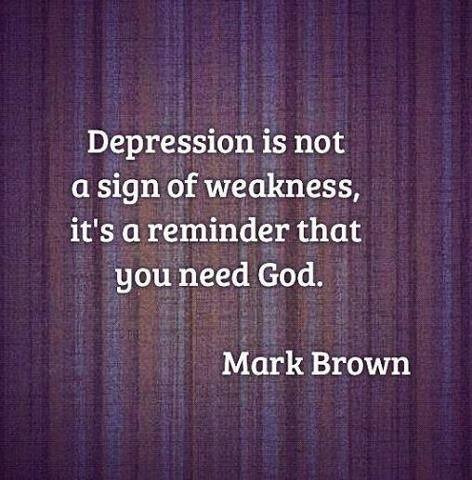 Christian Quotes About Depression. QuotesGram