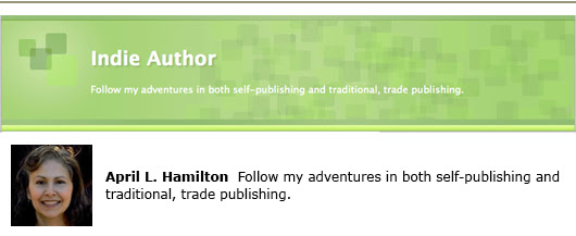 april L. hamilton indie author self-publishing