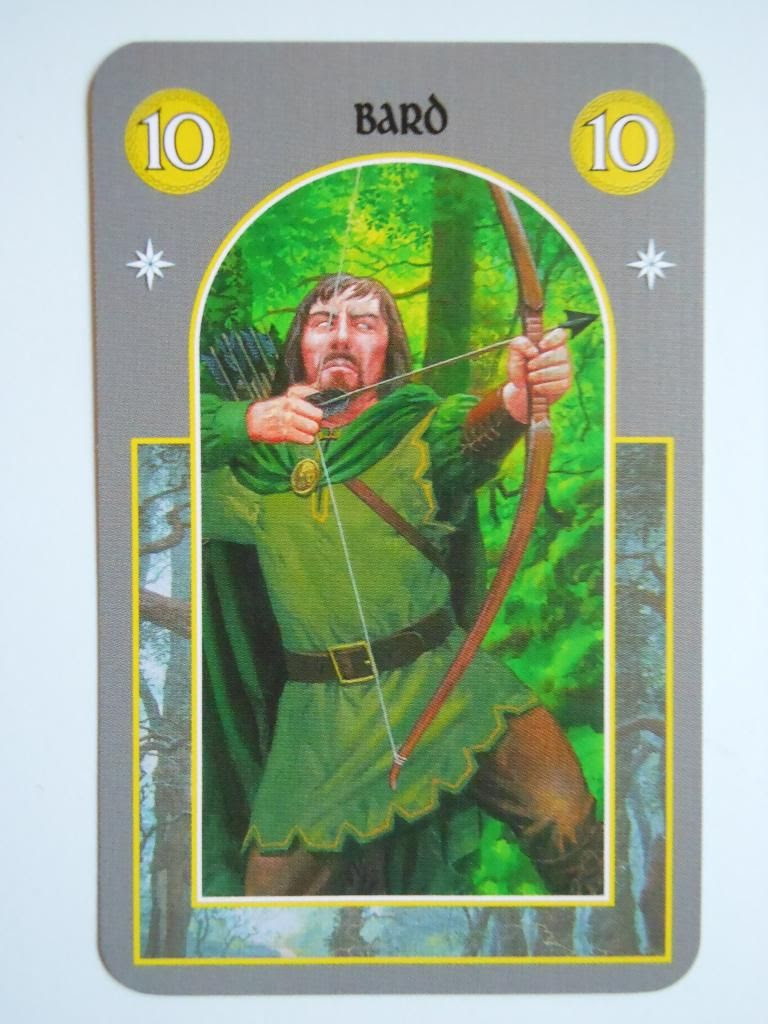 Bard from The Hobbit card game