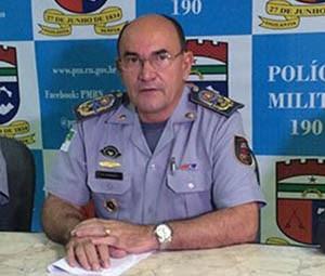 Coronel Ângelo Dantas deixou o comando da PM nesta quinta-feira (21) (Foto: Fernanda Zauli/G1)