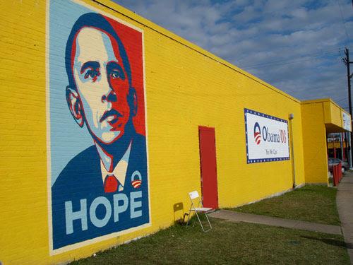 Texas Obama Mural