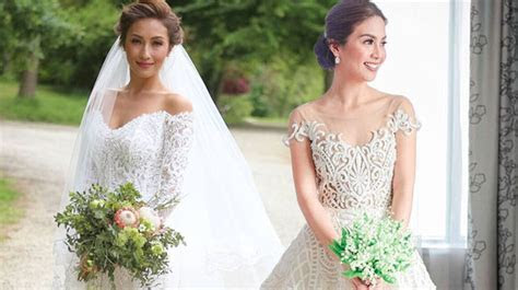 The Most Beautiful Celebrity Wedding Dresses Of 2016