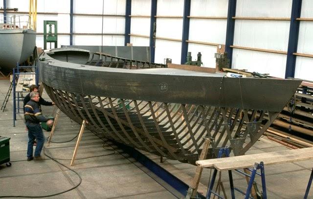 Fishing Boat: Get Steel boat hull construction