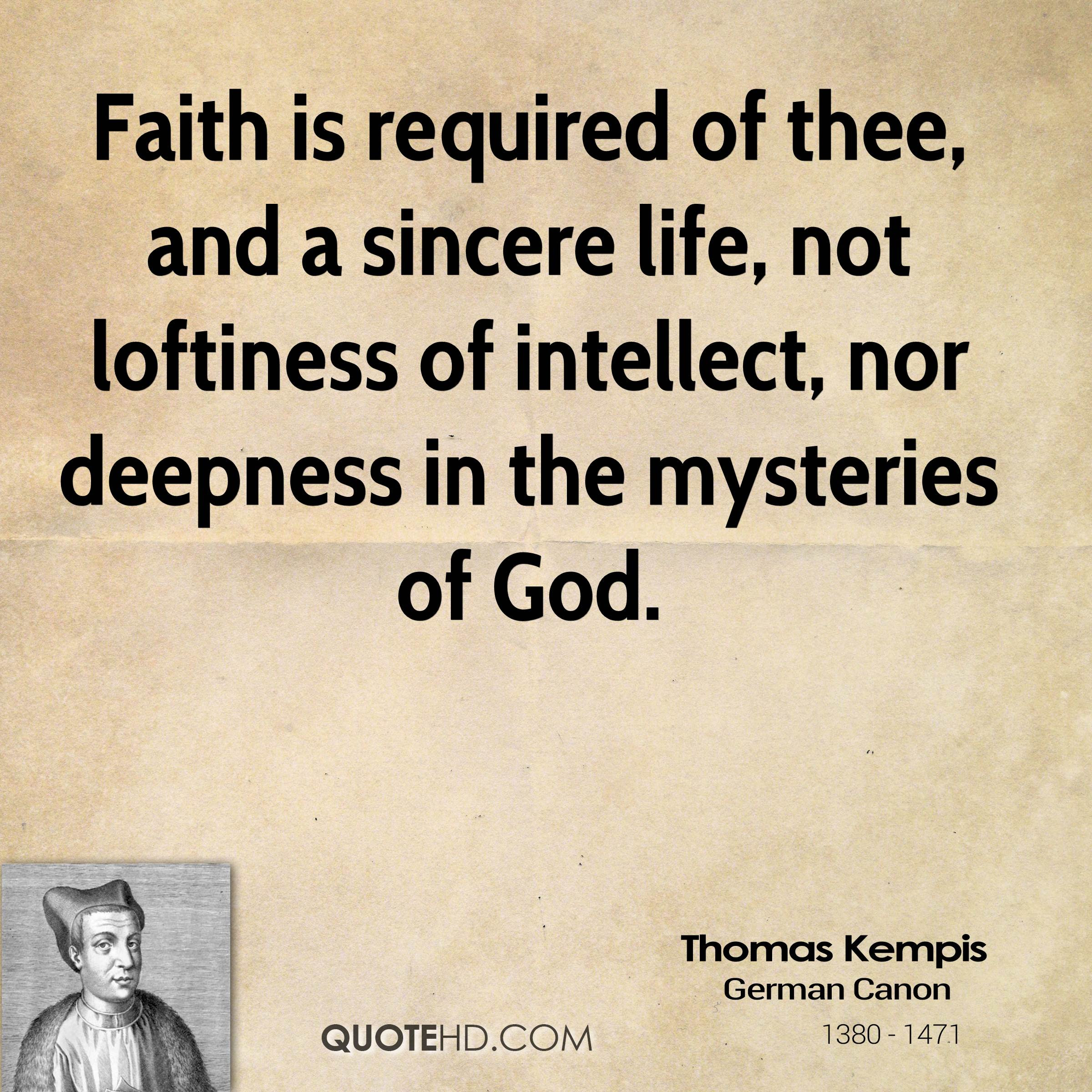Thomas Kempis Quotes Quotehd