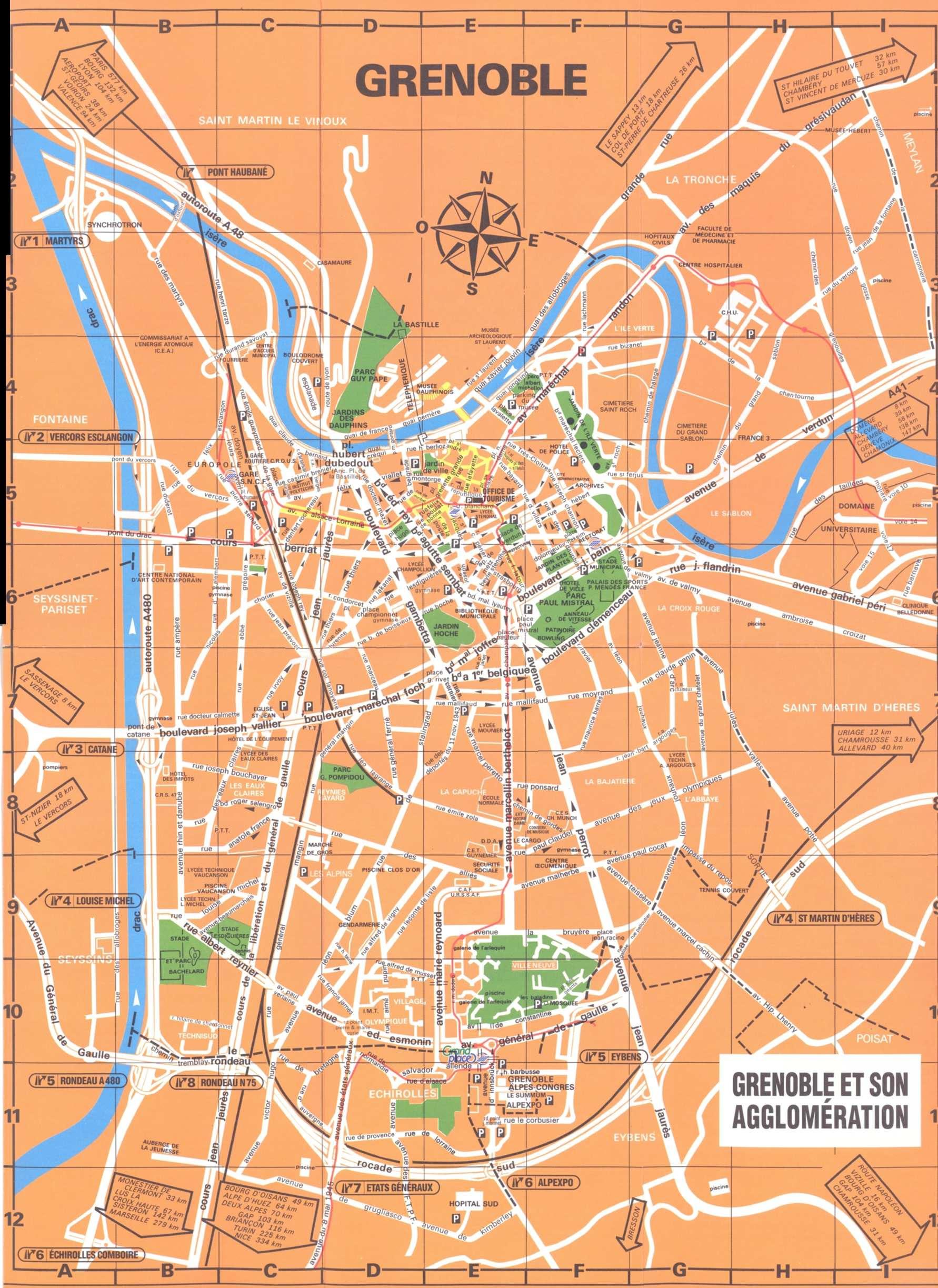 grenoble map 0