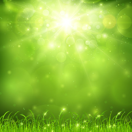 green_nature_and_sunlight_background_vector_541950