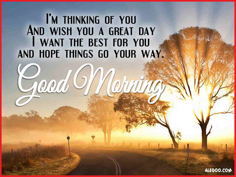 Good Morning Thinking Of You Pictures Photos And Images For