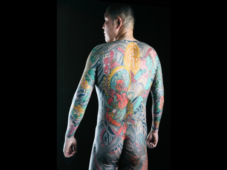 PHOTOS. Fascinants tatouages au Quai Branly