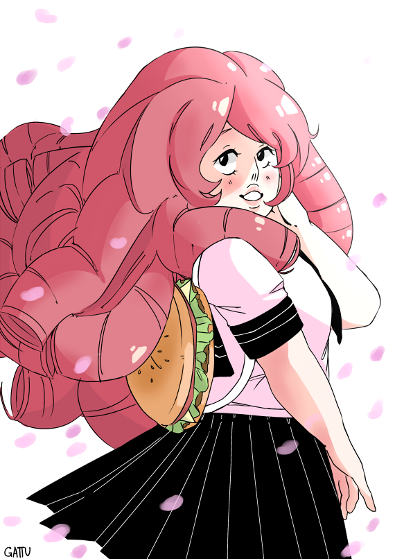 It's been like 3 years since I started to watch Steven Universe! One of my favorite cartoon so far ; ; Gakuen Rose