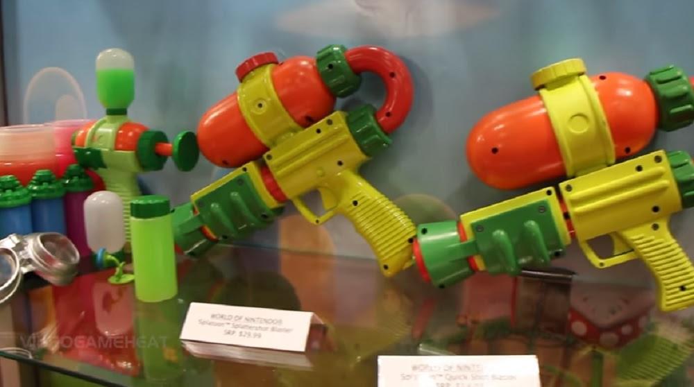Real life Splatoon guns exist, and they shoot ink screenshot