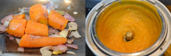 Carrot Soup Ingredients
