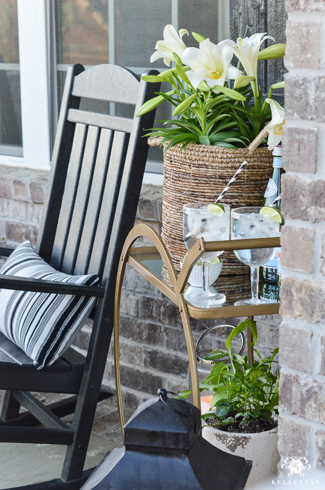 Spring In Full Swing A Southern Rocking Chair Front Porch Kelley Nan