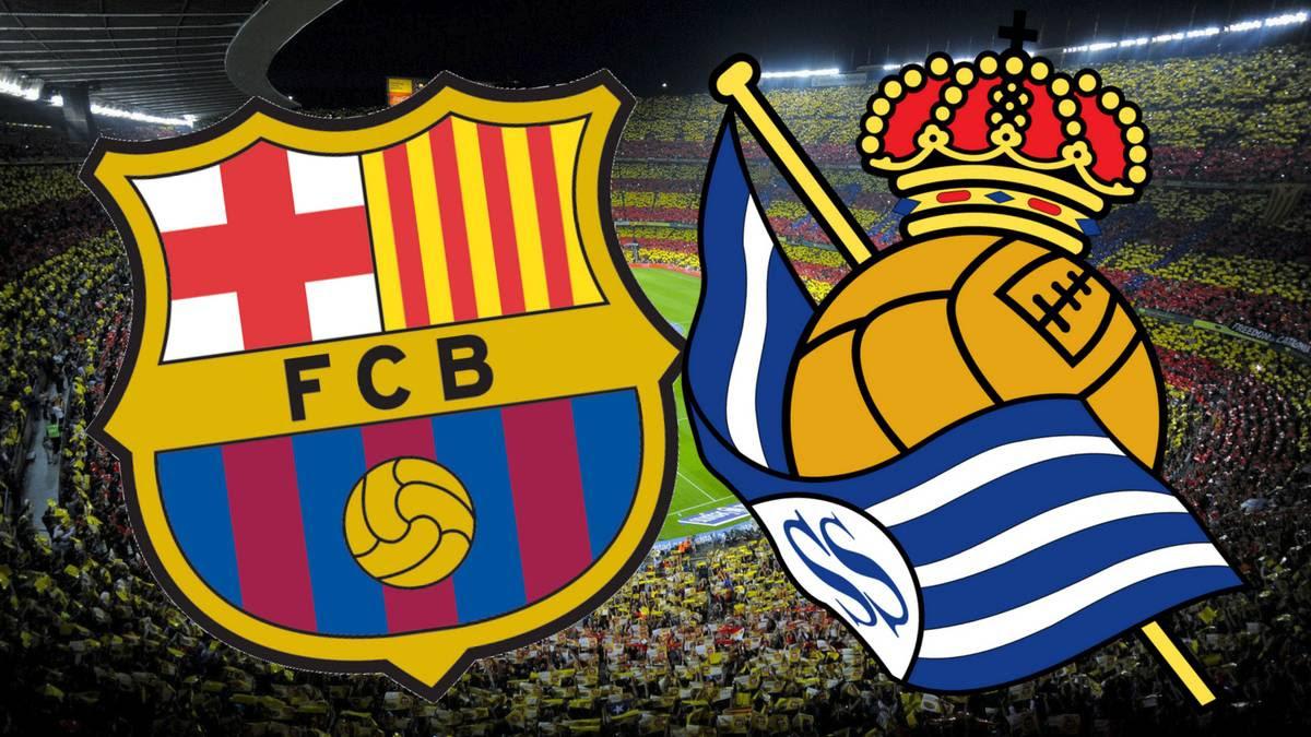 مشاهدة مباراة برشلونة و ريال سوسييداد بث مباشر - الدوري الإسباني